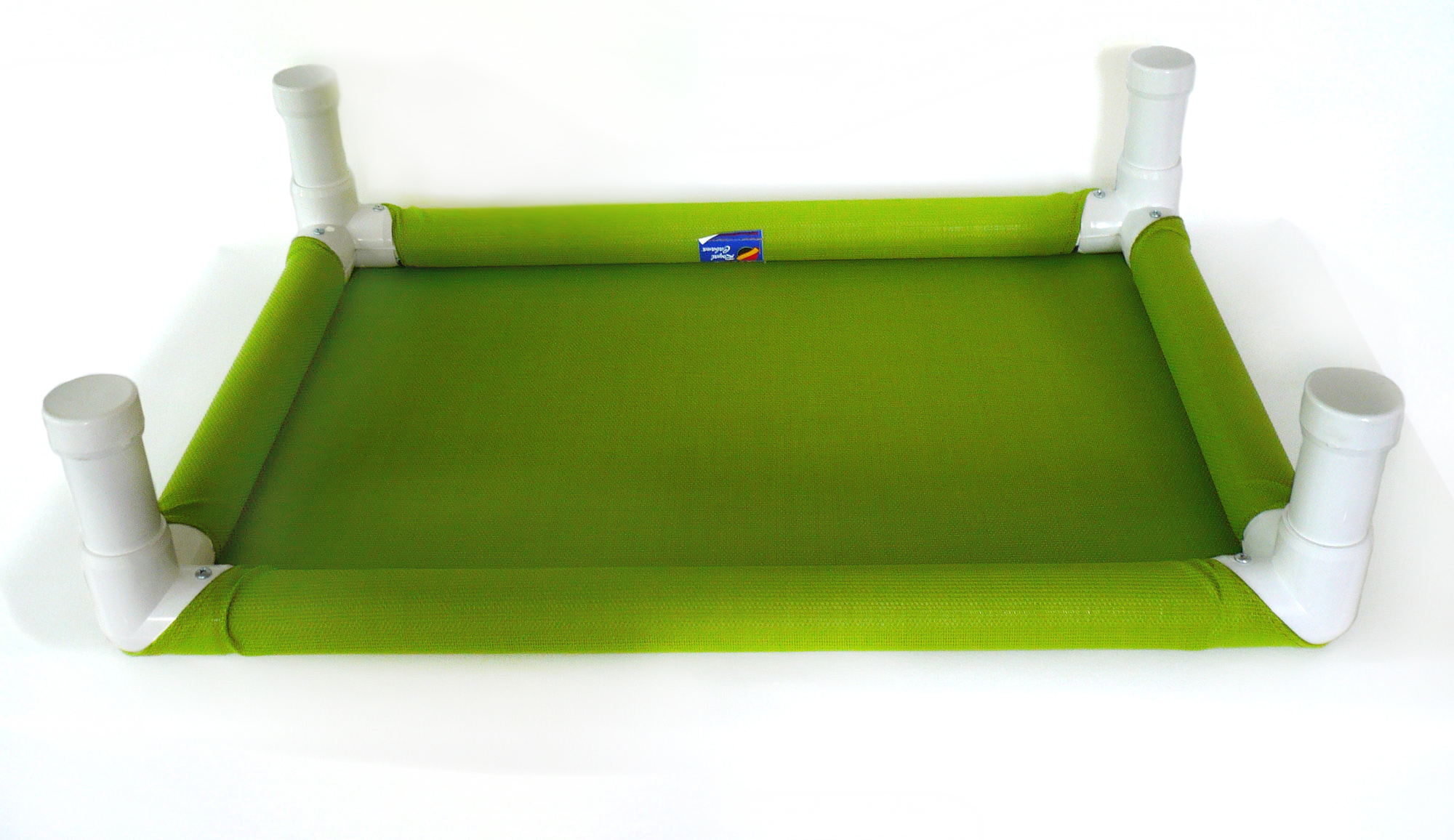 Green Elevated Pet Beds